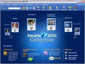 encarta 2005 gratuit