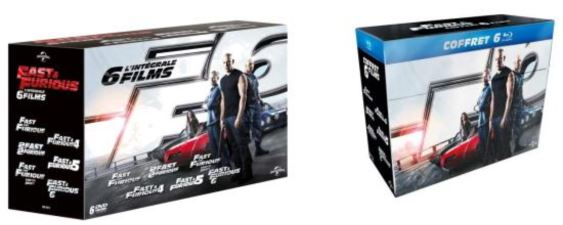 fast furious 6 le d tail des ditions dvd et blu ray actu. Black Bedroom Furniture Sets. Home Design Ideas