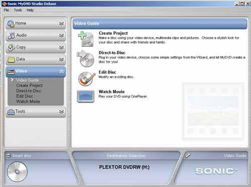 gratuitement sonic mydvd