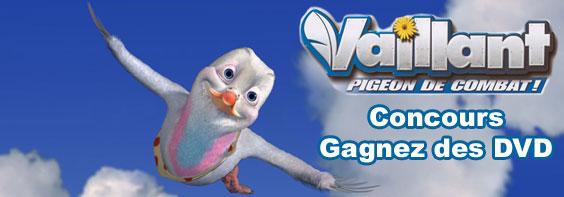 Concours gagnez le dvd du film d 39 animation vaillant actu - Pigeon de combat ...
